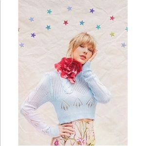 RARE Taylor Swift Lithograph with Stars